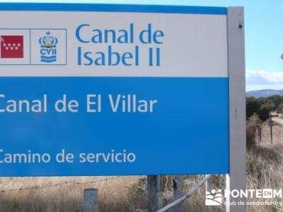 Senda Genaro - GR 300 - Embalse de El Atazar; senderismo españa rutas